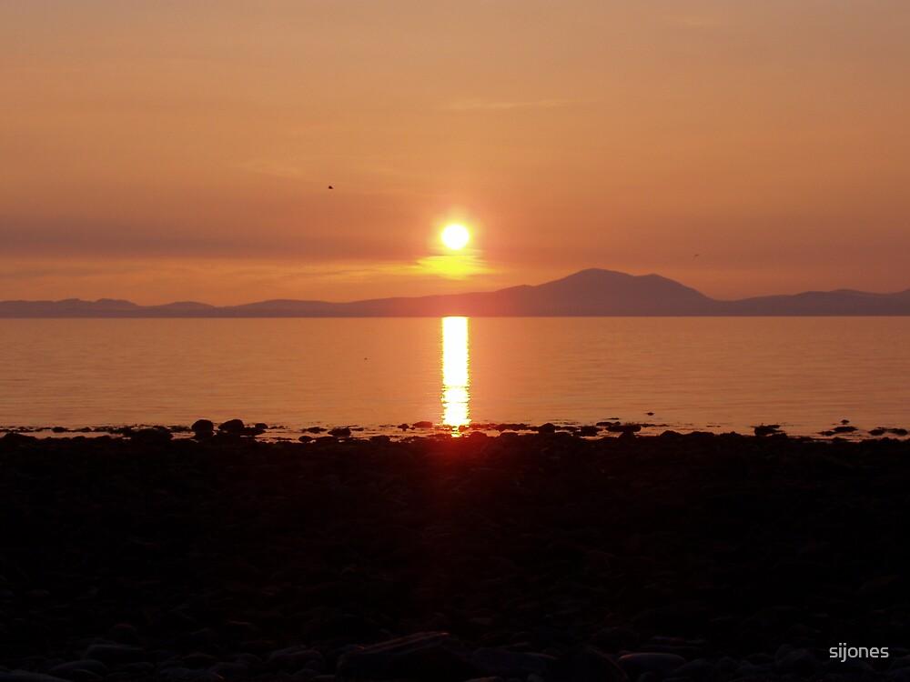sunset west wales by sijones