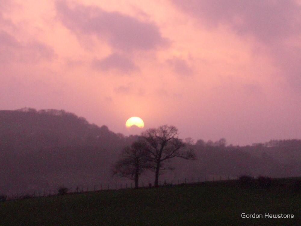 Kendal Sunset by Gordon Hewstone