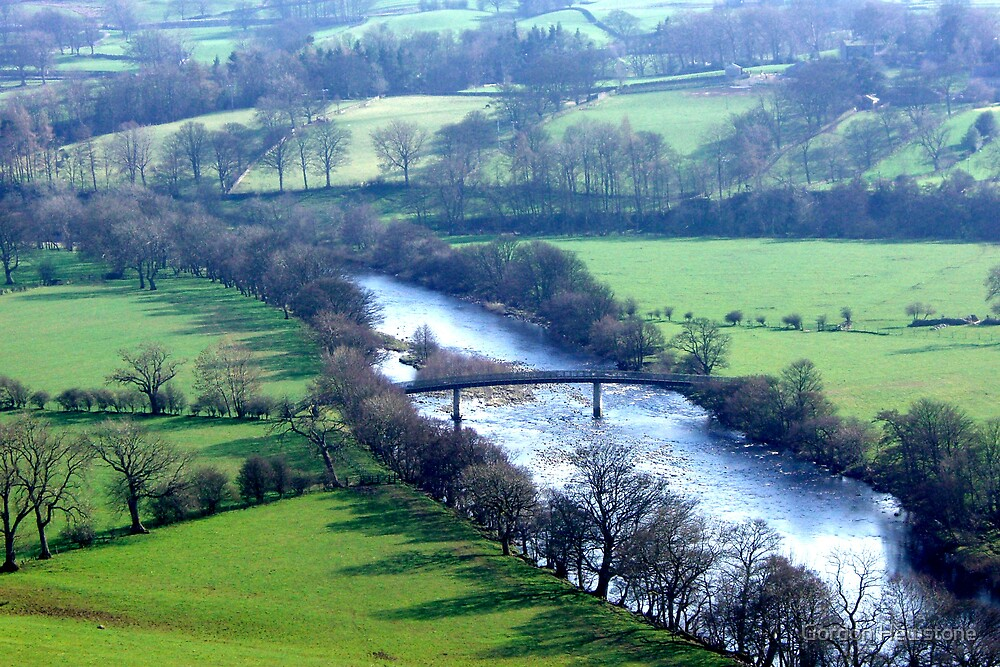 River Lune (1) by Gordon Hewstone