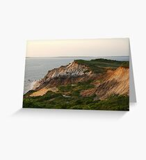 Gay Head Marthas Vineyard Greeting Card