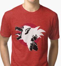 Goku Super monkey Tri-blend T-Shirt