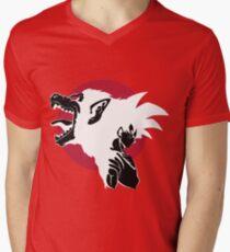 Goku Super mono Men's V-Neck T-Shirt