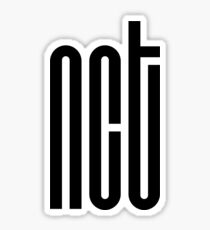 NCT Logo - Black Sticker