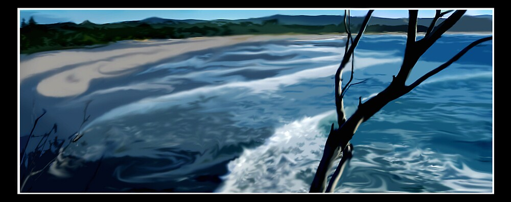 Morning Byron Bay by Cliff Vestergaard