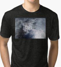 Water Behind A Ship Tri-blend T-Shirt