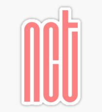 NCT Logo - Pink Sticker