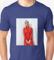 Miss Beyla Hughes Latex Leder PVC Fetisch Model T-Shirt