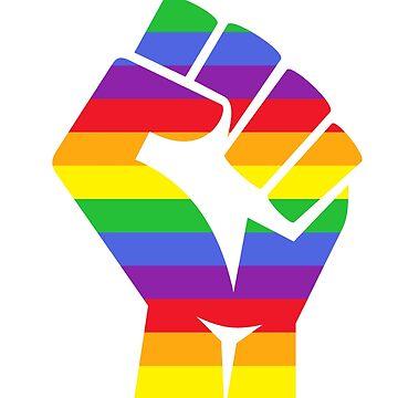 Gay Pride LGBT T Shirt by Dinosaursarecoo