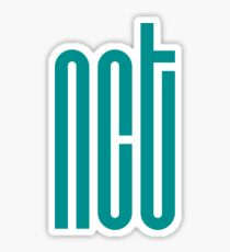 NCT Logo - Teal (Dark) Sticker
