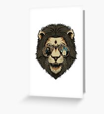 Gerry Garcia - Grateful Dead - Cool Cat Greeting Card