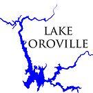 «Lago Oroville California» de Statepallets