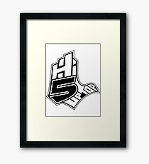 Hi-5 Up Top 2 Framed Print