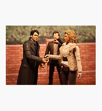 When Captain Jack Met River Song Photographic Print