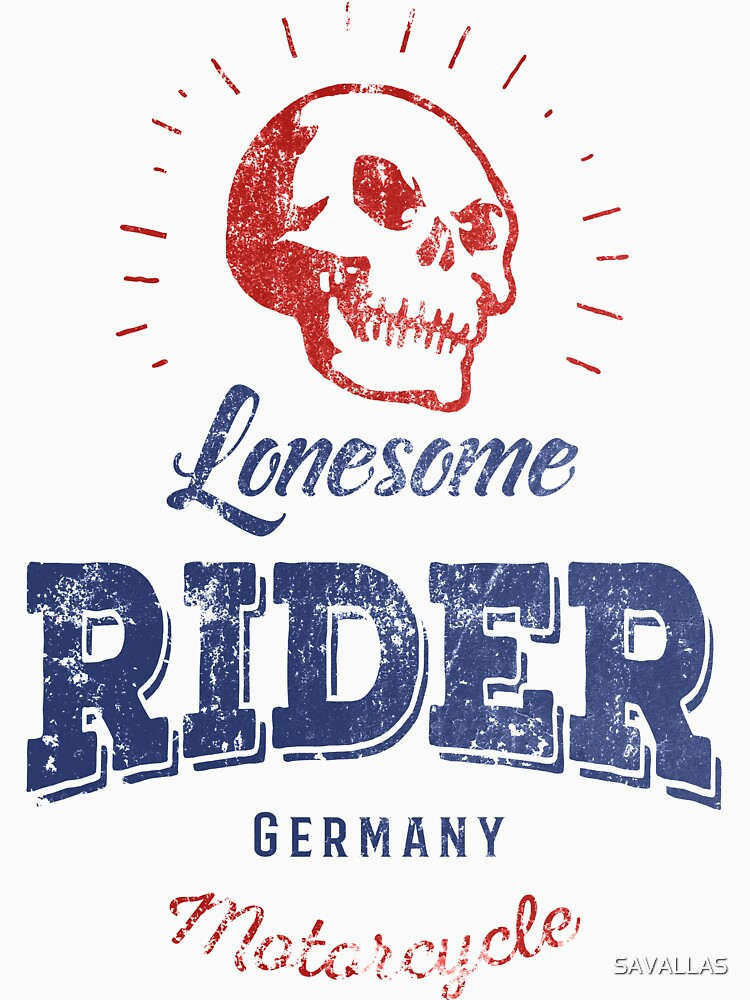 Lonesome Rider von SAVALLAS