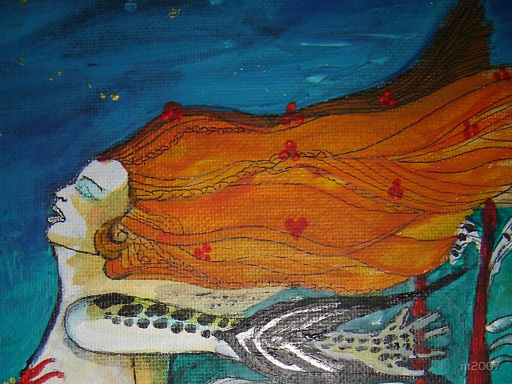 Fragment of Fish-Woman by nt2007