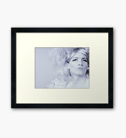 Powder Blue Framed Print