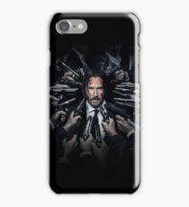 john wick iPhone Case/Skin