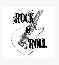 Rock Roll Music  Photographic Print
