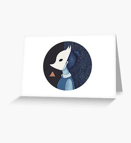 Better Strange Greeting Card