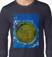 SlieveLeague from the Banks of the Glen River, near Carrick Long Sleeve T-Shirt