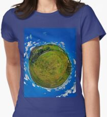 SlieveLeague from the Banks of the Glen River, near Carrick Women's Fitted T-Shirt