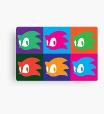 Sonic The Hedgehog - Composition Canvas Print