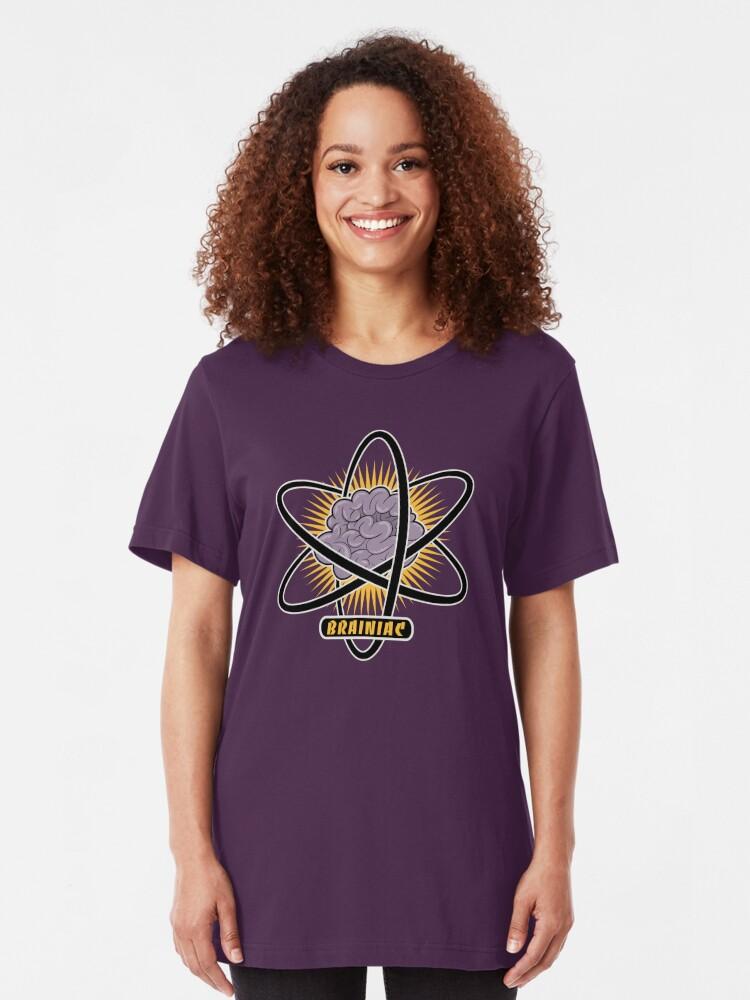 Alternate view of Brainiac Slim Fit T-Shirt