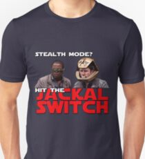 Hit the jackal switch! Unisex T-Shirt