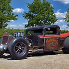 1936 International Rat Rod Pickup owned by Mark Sax by TeeMack