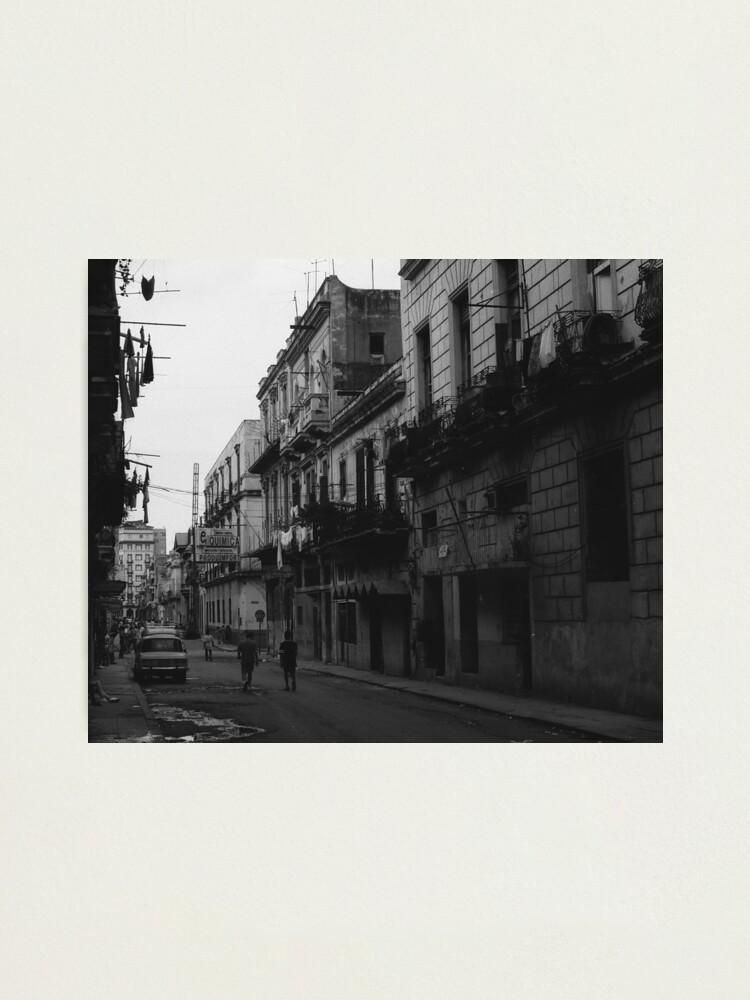 Alternate view of Havana Cuba Series - Street Scene Photographic Print
