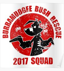 Bush Rescue 2017 Red Squad Poster