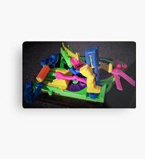Board Game Rainbow Metal Print