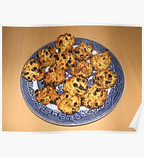 Oven Fresh Rock Cakes Poster