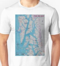 Surf & Soak Southeastern Alaska Unisex T-Shirt