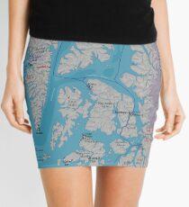Surf & Soak Southeastern Alaska Mini Skirt