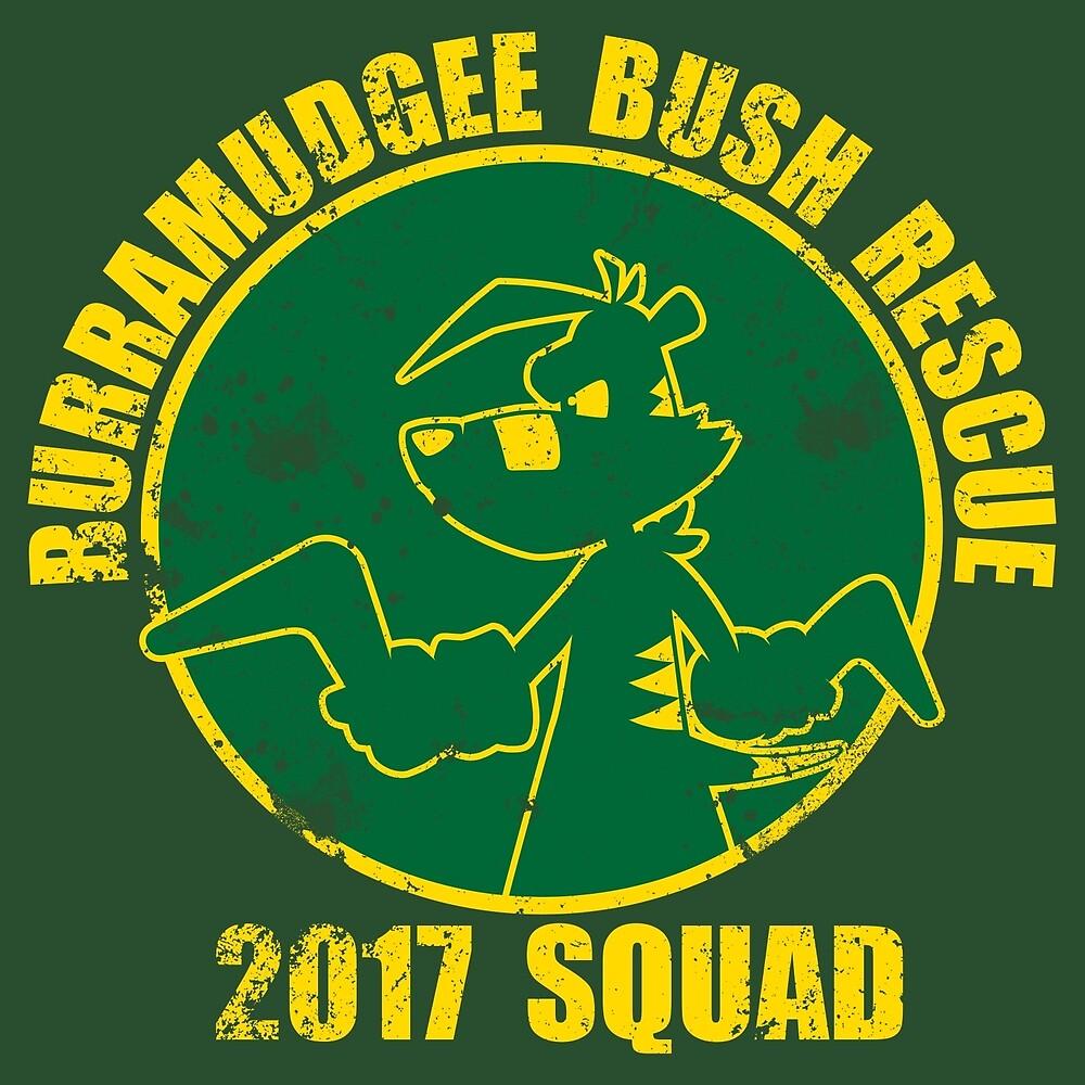 Bush Rescue 2017 Gold Squad by KromeStudios