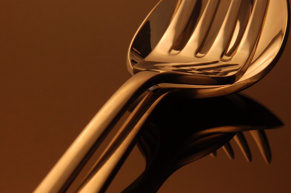 Fork & Spoon by Kate Eling