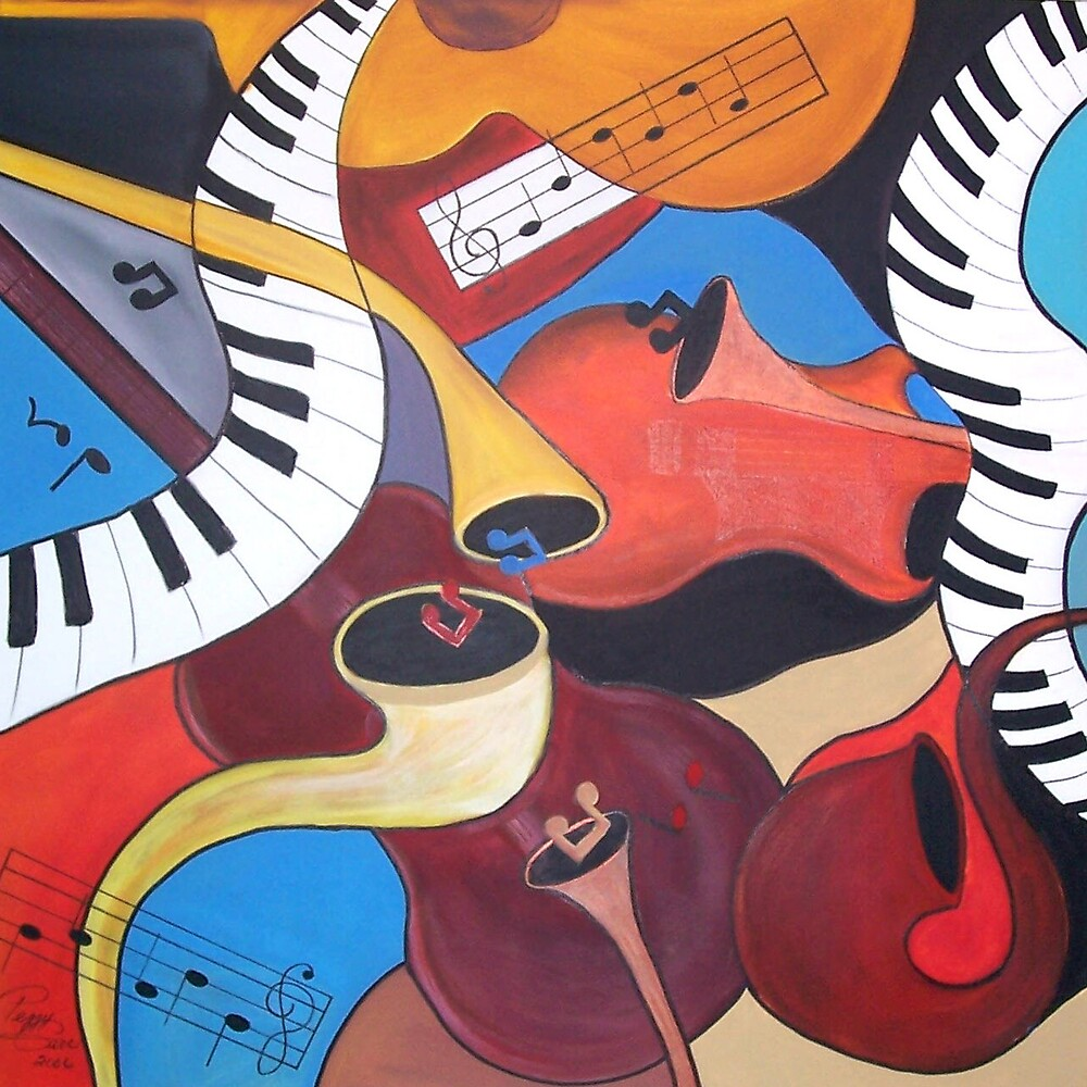 Music Medley by Peggy Garr