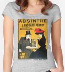 Vintage poster - Absinthe Women's Fitted Scoop T-Shirt