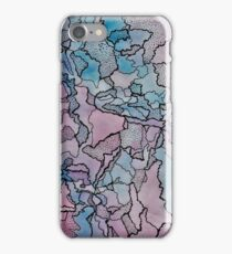 Watercolour and Fine Liner Experiment iPhone Case/Skin