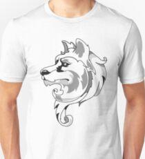 wolf flame, lobo flamas  Unisex T-Shirt