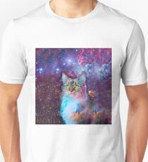 Proud Cat With Space Background                                                                   Unisex T-Shirt