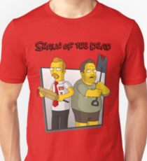 Shaun of the Dead - Simpsons Style! Unisex T-Shirt