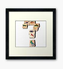 Dinosaurs! Framed Print