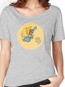 Deal With It Illustration Women's Relaxed Fit T-Shirt