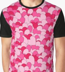 Cute Pastel Heart Collage  Graphic T-Shirt