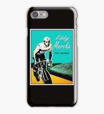 EDDY MERCKX; Vintage The Cannibal Racing Poster iPhone Case/Skin