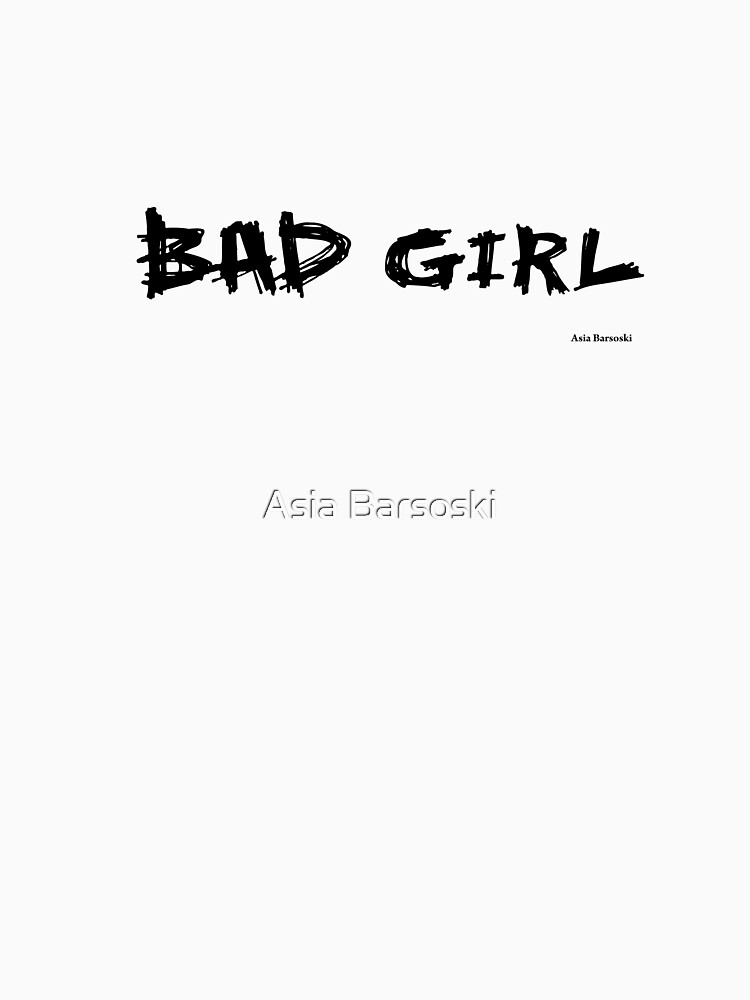Bad Girl by abarsoski