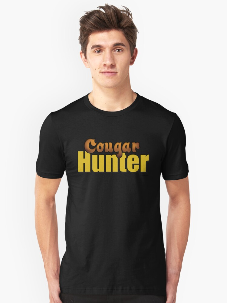 Cougar Hunter Unisex T-Shirt Front