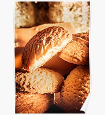 Butter shortbread biscuits Poster